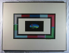 Stan Solomon Acrylic Painting - 'Tubular Bells' - Framed Original - 1984