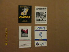 ECHL Lot of 4 Chiefs Panthers Thunderbirds & Admirals Vintage 1989-90 Schedules