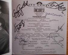 Signed Tenderloin CD Patrick Wilson Debbie Gravitte Sara Gettelfinger Rob Fisher