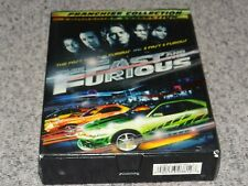 The Fast and the Furious 1+2 Franchise Collection (Rare OOP 3 Disc DVD Box Set)