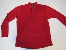 PATAGONIA Red Snap Tee Long Sleeve Capilene Shirt Men's S Small NICE!! USA