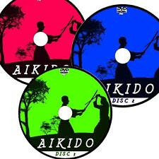 YOSHINKAN AIKIDO VIDEO FULL 3 DVD COLLECTION SIMPLE STEP BY STEP LESSONS NEW