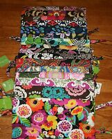NWT Vera Bradley DITTY BAG 4 travel lunch gym baby pool beach tote cosmetic case