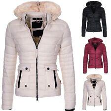 femme manteau automne hiver a capuche et poches couleur uni nouveau veste chaude
