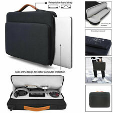 "13""-14"" Black Laptop Sleeve Bag Protective Case For Macbook Air Lenovo ThinkPad"