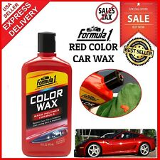 Lasting Shine Color Red Car Wax Paint Protection High Gloss Finish Fills Scratch