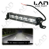 🔥18W 6000K White LED Work Light Bar Driving Lamp For Jeep SUV Truck Tractor ATV
