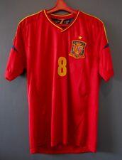 SPAIN NATIONAL TEAM #8 XAVI MENS VINTAGE JERSEY FOOTBALL SOCCER  4+/5