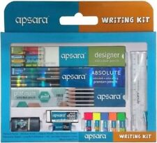 For School Kids Apsara Writing Kit Contains Pencils,Sharpeners,Erasers & Scales