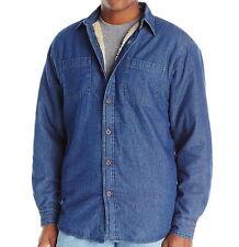 Wrangler Men's Sherpa Lined Denim Shirt - XXXL