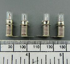 Bulb Holder for L.E.S.(E5 screw) - with 6v bulb - pack of 4 - single tag type