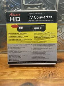 Access HD Digital to Analog TV Converter DTA 1080U with Universal Remote