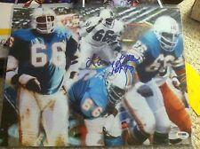 LARRY LITTLE HOF 93 Signed Autograph Auto 11x14 Picture Photo Miami Dolphins PSA