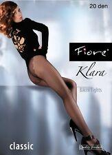 "Fiore Classic "" Klara "" Sheer Bikin Brief Tights 20 Denier (20DEN)"