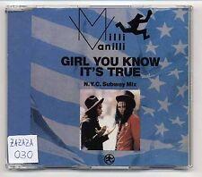 Milli Vanilli Maxi-CD Girl You Know It's True (N.Y.C. Subway Mix) - 3-tr 661 589