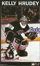 Kelly Hrudey LOS ANGELES KINGS Original Starline Poster MINI Promo 3x5