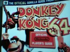 Donke Kong 64 Official Player's Guide