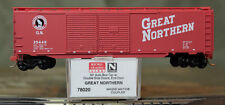 78020 Micro Trains N Scale 50' Auto Box Car Dbl Slide Doors, End Door Gn 35449