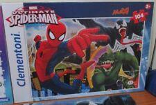 Marvel Comics Ultimate Spider-Man Jigsaw Puzzle Venom Lizard Clementoni COMPLETE