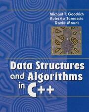 Data Structures and Algorithms in C++ by Michael T.  Goodrich, Roberto  Tamassi