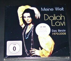 DALIAH LAVI MEINE WELT DAS BESTE 1970-2008 CD + DVD SCHNELLER VERSAND NEU & OVP