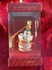 MIB FLAWLESS Stunning LENOX Celebrate 2000 KORBEL CHAMPAGNE TRINKET BOX Ornament