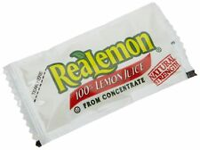 ReaLemon 100% Lemon Juice from Concentrate, 0.14-Ounce Single Serve Packages ...