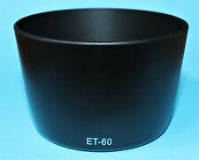 Nueva marca ET-60 Parasol Para CANON EF 75-300mm 90-300mm 55-250mm f/4-5.6 IS USM