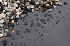 4,29?/m² Teichfolie schwarz PVC -P 1,0mm  -  Gartenteich Folie Teich Naturteich