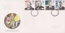 UNADDRESSED GB ROYAL MAIL FDC 1995 COMMUNICATIONS SET TRURO PMK