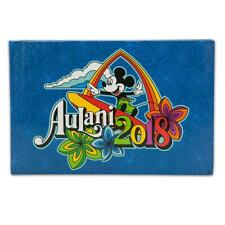 Disney Authentic Hawaii Aulani Mickey Mouse 2018 Deluxe Photo Album & CD Holder