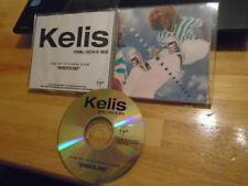 RARE PROMO Kelis CD single Young, Fresh N' New r&b PHARRELL WILLIAMS Neptunes 01