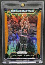 2015-16 Panini Prizm All Star Team Orange Wave #368 Kevin Durant BGS PSA