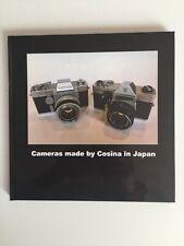 """Classic camera book: """"Cameras made by Cosina in Japan """" (Bauer, Porst, Carena..)"""