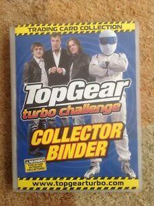Top Gear Turbo Challenge Binder + 201 cards + 35 Extra + 7 Platinum - Free P+P