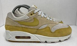 Nike Air Max 90/1 Women's Size 8 Wheat Gold Guava Ice White AQ1273-800