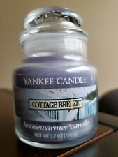 Yankee Candle COTTAGE BREEZE 3.7oz Small Housewarmer Jar Candle