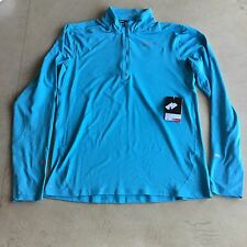 Nike Men's Element Half Zip Training Top, Blue, Medium, Casual Gym Running BNWT