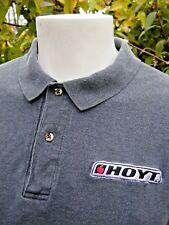 HOYT ARCHERY OUTER BANKS Brand Mens Cotton Polo Shirt Sz XL - Gray