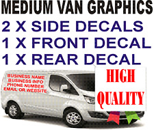 MEDIUM CUSTOM VAN , VEHICLE GRAPHICS SIGN STICKERS WRITING KIT LETTERING DECALS