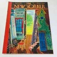 The New Yorker: August 18 1962 - Full Magazine/Theme Cover Ilonka Karasz