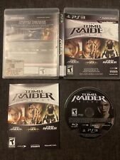 Tomb Raider Trilogy (Sony PlayStation 3) Complete