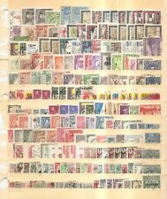 Latin America - Older Stamps - Various Countries on Stock Card.