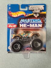 Hot Wheels Monster Jam HE-MAN 4X4 Truck MOTU Masters of the Universe Mattel New