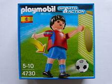 Playmobil 4730 Fußballspieler  Spanien  Neu und original Verpackt
