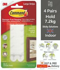 More details for 3m command™ picture frame hanging strips adhesive stick on strips damage free