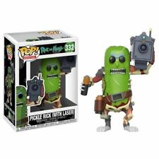 FUNKO POP! ANIMATION RICK AND MORTY PICKLE RICK W/ LASER 3.75 INCH VINYL FIGURE