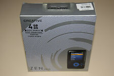 Creative ZEN V Plus Black/Blue 4GB Digital Media MP3 Player Rare Collectible New