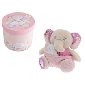 Peluche elefante rosa Chicco in confezione, 0m+