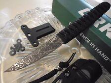 CRKT Obake Burnley Tanto Dagger Boot Knife CR2367 8Cr14MoV Tini Acid Etch New